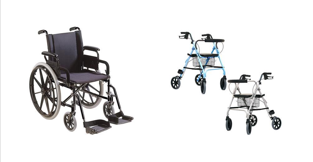 rolstoelen en rollators
